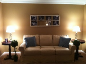 Before and After Living Room: The Old and New