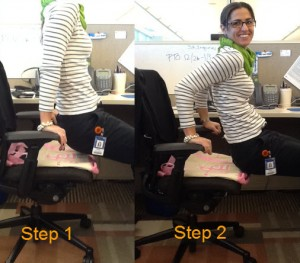 At Work Move Of The Day – Chair Dips