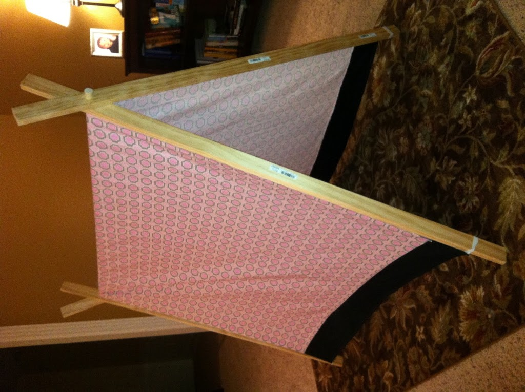 A-Frame Tent Done!