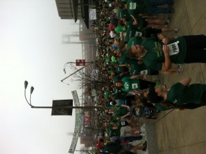 Running Crowd