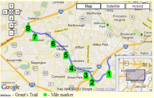Places to Run in St. Louis