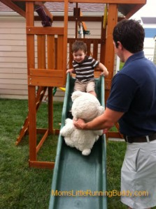 Slide and Teddy