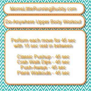Do Anywhere Upper Body Workout