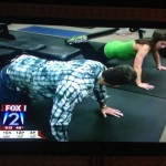 As Seen On TV..Pregnant…Doing Exercises