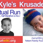 Kyle's Krusade Virtual 5K Race Recap