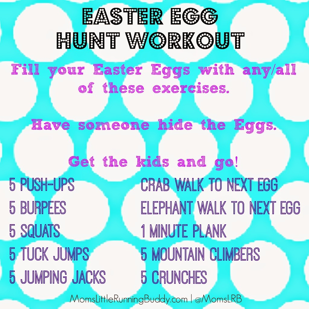 Easter Egg Hunt Workout