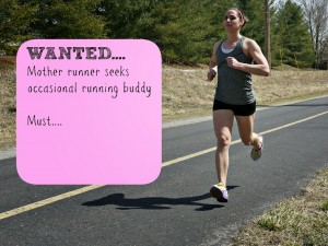 Wanted…Running Buddy