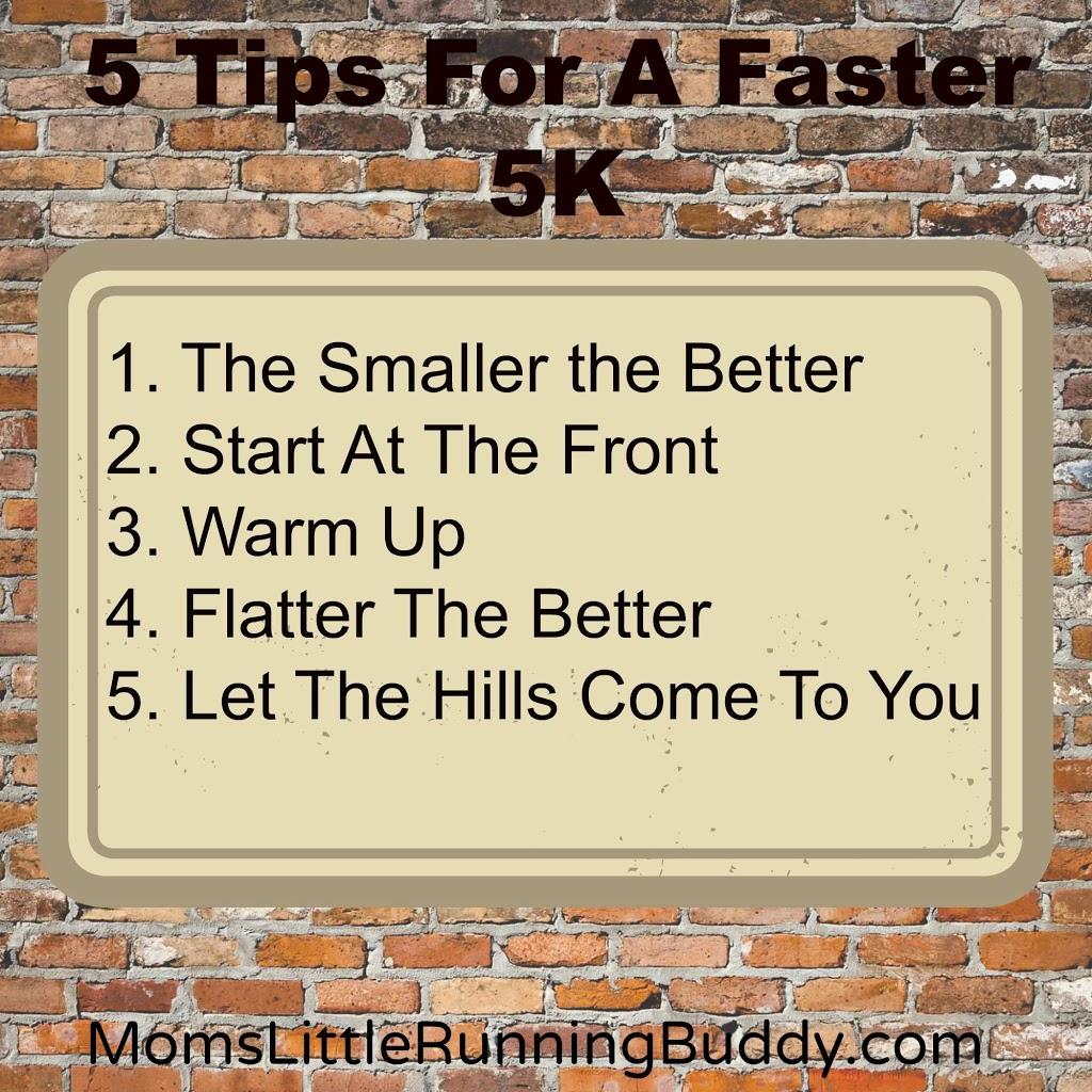 5 Tips For A Faster 5K