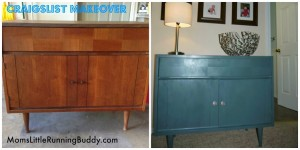 Marvelous Monday: DIY CraigsList Furniture, Mothers and Workouts