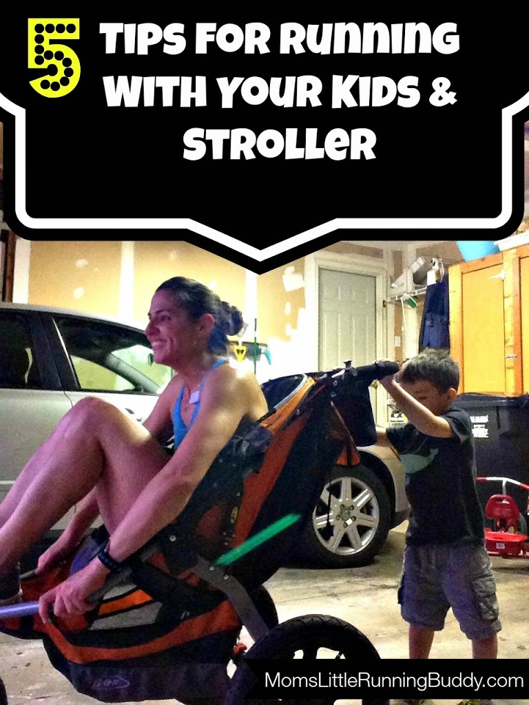 5 Stroller/Kid Running Tips
