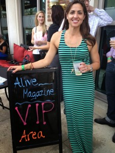 Ruth's Chris Patio Party Recap