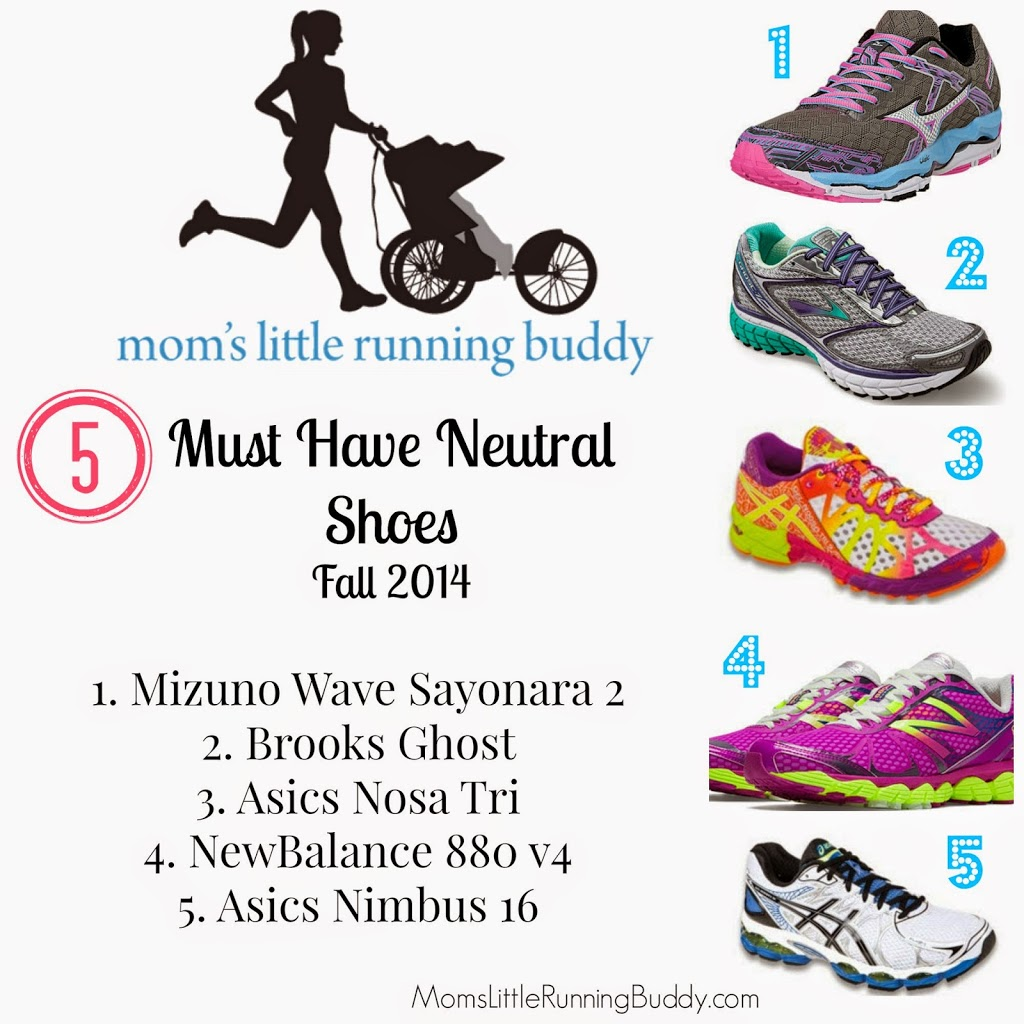Must Have Neutral Running Shoes for Fall