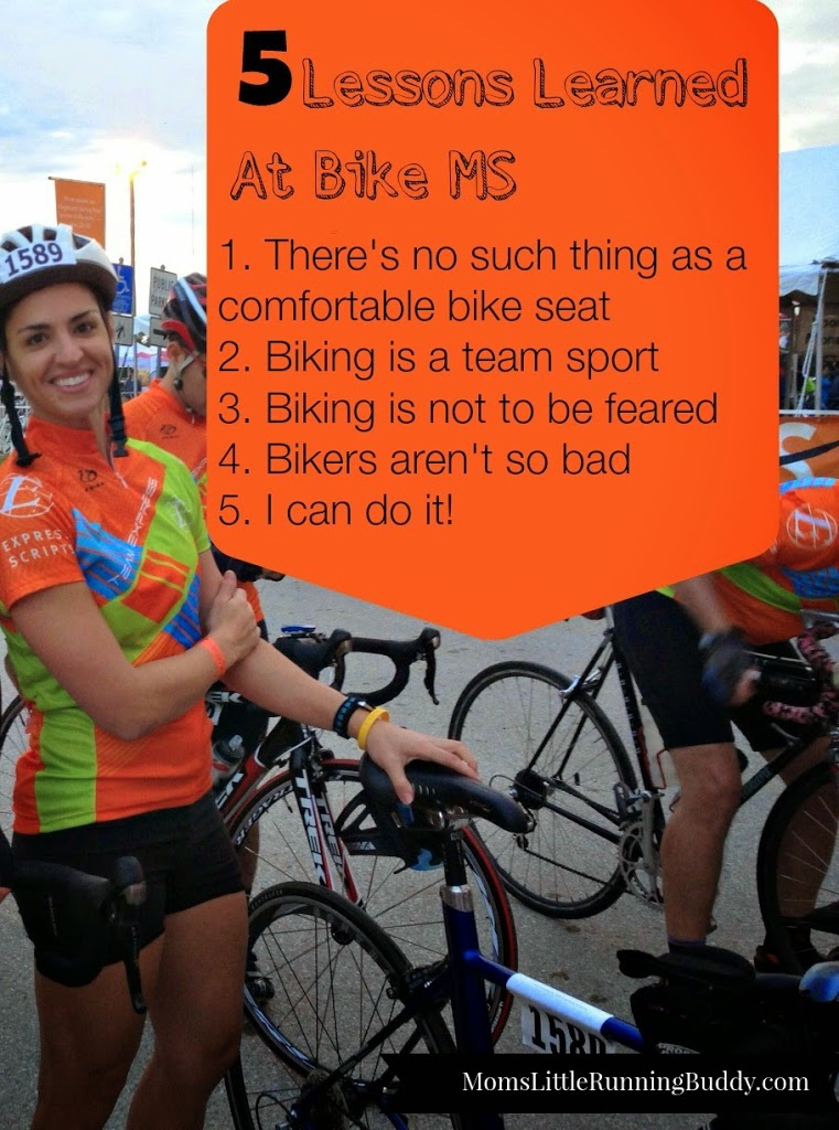 5 Lessons Learned on my Ride