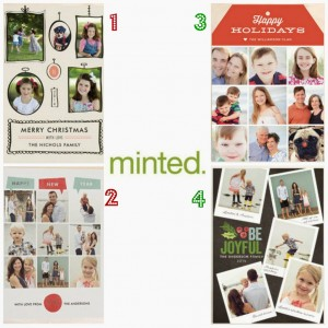 Minted Holiday Cards Are Here!