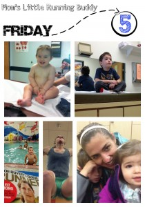 High Five Friday – Workouts, Swimming Lessons and Doctors