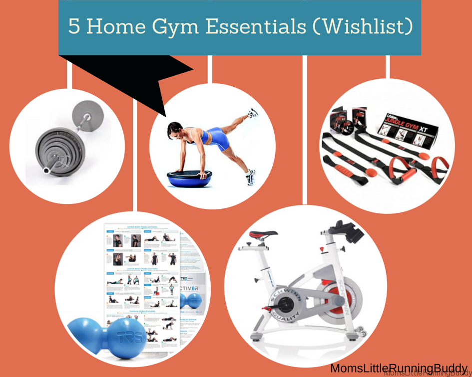 Home gym essentials wishlist items moms little running