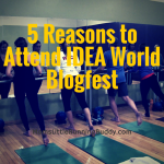 Five Reasons To Go To IDEA World Blogfest + Giveaway