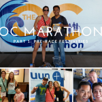 OC Marathon Part 1: Pre-Race Festivities