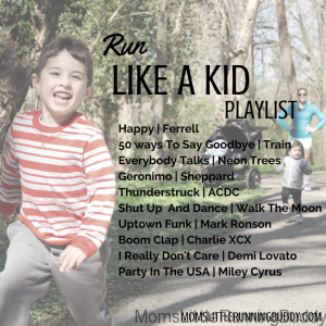 Run Like A Kid Playlist