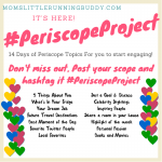 #PeriscopeProject is here!