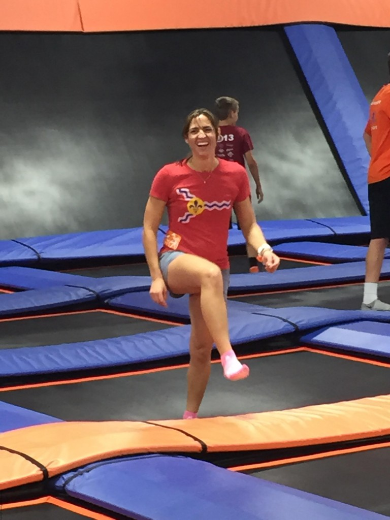 All Smiles At SkyZone
