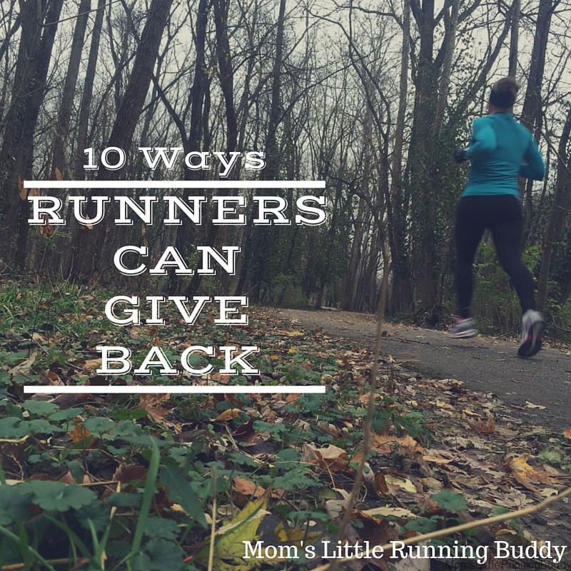 10 Ways Runners Can Give Back