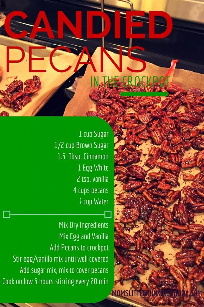 DIY Candied Pecans