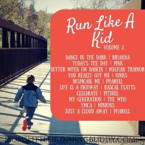 Run Like A Kid Vol 2 + Giveaway