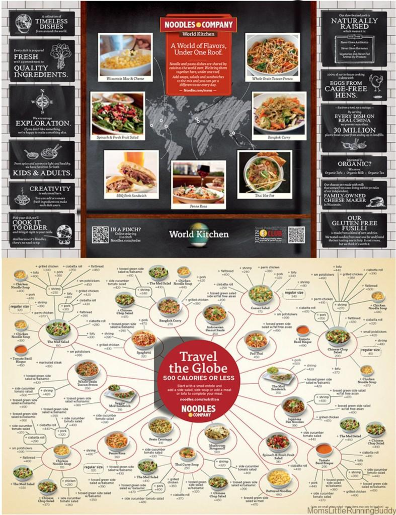 Noodles & Co menu