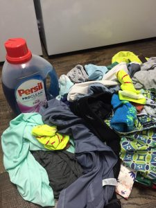 Persil ProClean Laundry Detergent vs. Sweaty Clothes (Giveaway)