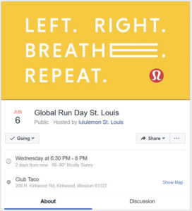 Global Running Day in St. Louis: Come Run with Lululemon!