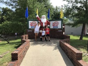 It's Christmas All Summer Long in Santa Claus Indiana
